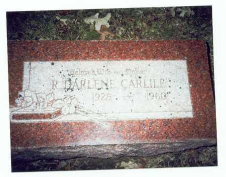 CARLILE, RUTH DARLENE - Pottawattamie County, Iowa   RUTH DARLENE CARLILE