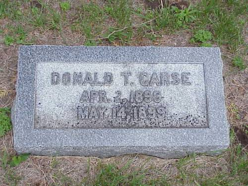 CARSE, DONALD T. - Pottawattamie County, Iowa | DONALD T. CARSE