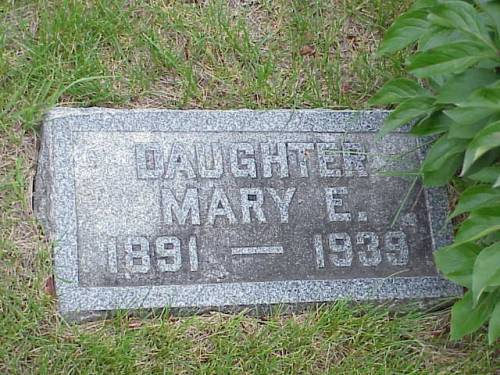 CARSE, MARY E. - Pottawattamie County, Iowa | MARY E. CARSE