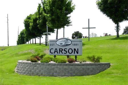 CARSON, CEMETERY - Pottawattamie County, Iowa | CEMETERY CARSON