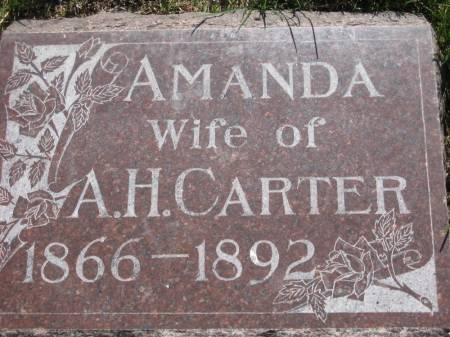 CARTER, AMANDA - Pottawattamie County, Iowa   AMANDA CARTER
