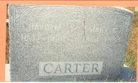 CARTER, MARY FRANCES - Pottawattamie County, Iowa | MARY FRANCES CARTER