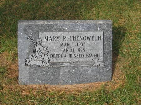 CHENOWETH, MARY R. - Pottawattamie County, Iowa | MARY R. CHENOWETH