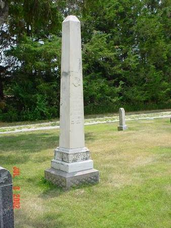 CHRISTIAN, FREDRICK F. - Pottawattamie County, Iowa | FREDRICK F. CHRISTIAN