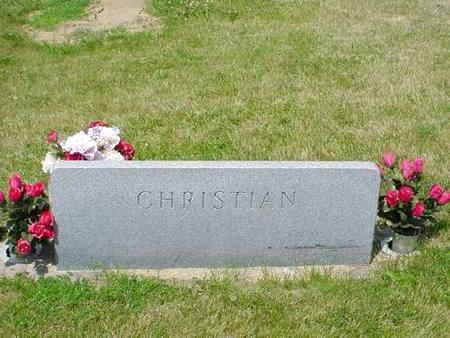 CHRISTIAN, FLORENCE H. - Pottawattamie County, Iowa | FLORENCE H. CHRISTIAN