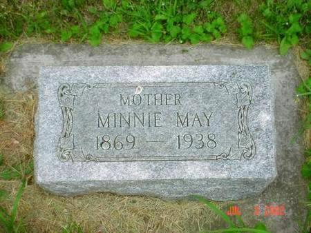 CHRISTIAN, MINNIE MAY - Pottawattamie County, Iowa   MINNIE MAY CHRISTIAN