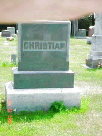 CHRISTIAN, THOMAS N. - Pottawattamie County, Iowa | THOMAS N. CHRISTIAN