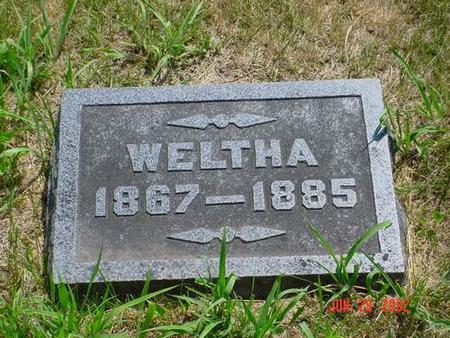 CHRISTIAN, WELTHA - Pottawattamie County, Iowa | WELTHA CHRISTIAN