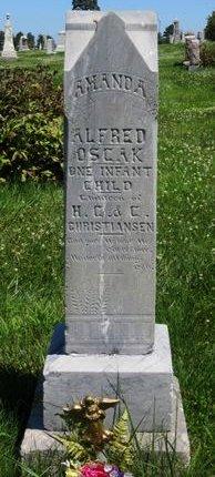 CHRISTIANSEN, ALFRED - Pottawattamie County, Iowa   ALFRED CHRISTIANSEN