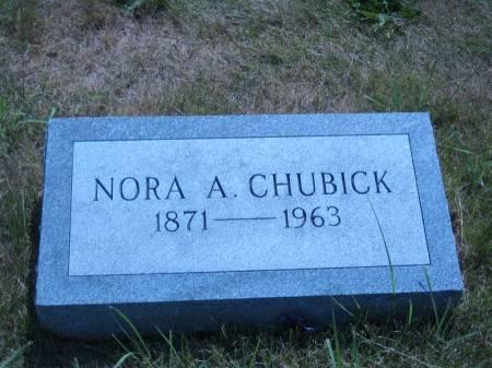 CHUBICK, NORA A. - Pottawattamie County, Iowa | NORA A. CHUBICK