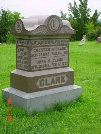 CLARK,  DORA S. & JENNIE - Pottawattamie County, Iowa |  DORA S. & JENNIE CLARK