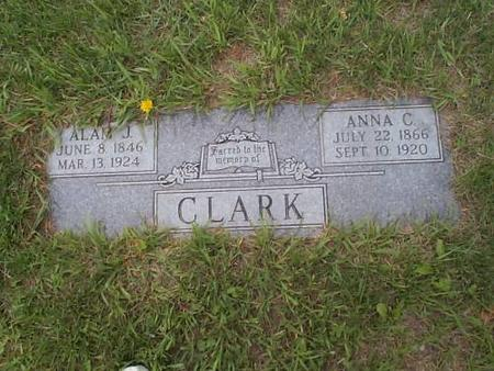 CLARK, ALAN J. & ANNA C. - Pottawattamie County, Iowa | ALAN J. & ANNA C. CLARK
