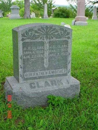 CLARK, A. E. & J. L - Pottawattamie County, Iowa | A. E. & J. L CLARK