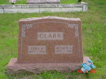 CLARK, CORA A. & REUBEN J. - Pottawattamie County, Iowa | CORA A. & REUBEN J. CLARK