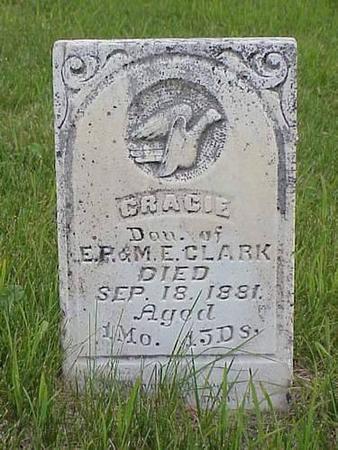 CLARK, GRACIE - Pottawattamie County, Iowa | GRACIE CLARK