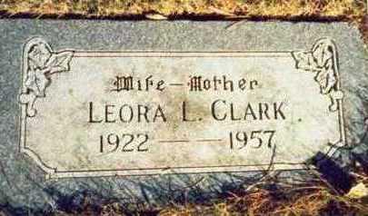 CLARK, LEORA L. - Pottawattamie County, Iowa | LEORA L. CLARK