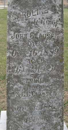 CLAUSEN, CAROLINE C. - Pottawattamie County, Iowa | CAROLINE C. CLAUSEN