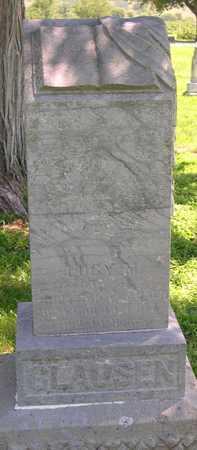 CLAUSEN, LUCY M. - Pottawattamie County, Iowa   LUCY M. CLAUSEN