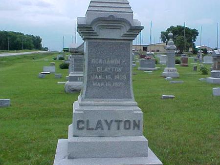 CLAYTON, BENJAMIN - Pottawattamie County, Iowa | BENJAMIN CLAYTON