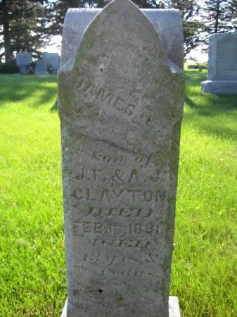 CLAYTON, JAMES - Pottawattamie County, Iowa | JAMES CLAYTON