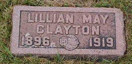 CLAYTON, LILLIAN MAY - Pottawattamie County, Iowa | LILLIAN MAY CLAYTON
