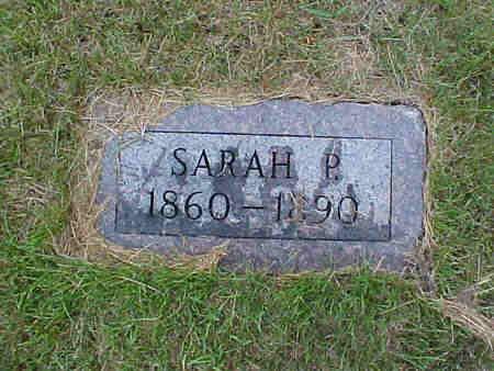 CLAYTON, SARAH P. - Pottawattamie County, Iowa   SARAH P. CLAYTON