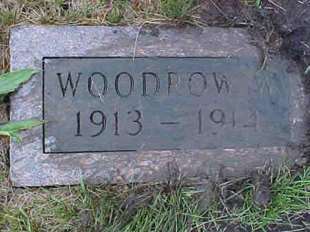CLAYTON, WOODROW W. - Pottawattamie County, Iowa | WOODROW W. CLAYTON
