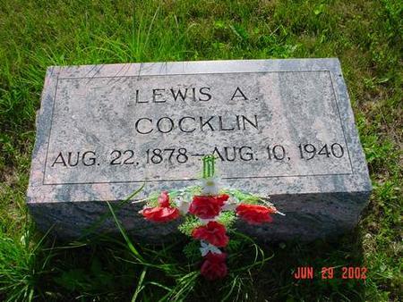 COCKLIN, LEWIS A. - Pottawattamie County, Iowa | LEWIS A. COCKLIN