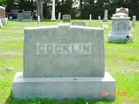 COCKLIN, WILLIAM LIPE - Pottawattamie County, Iowa | WILLIAM LIPE COCKLIN