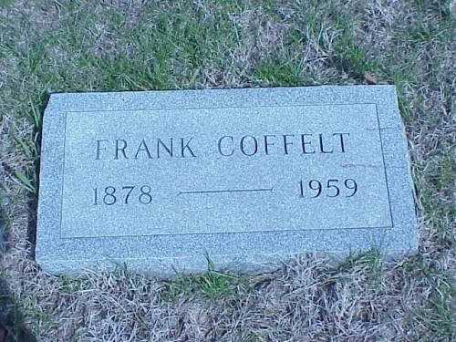 COFFELT, FRANK - Pottawattamie County, Iowa | FRANK COFFELT