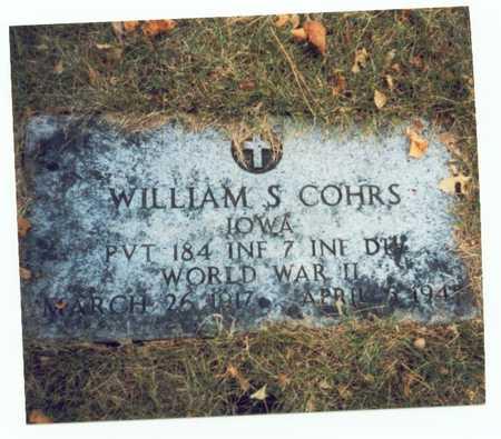 COHRS, WILLIAM S. - Pottawattamie County, Iowa | WILLIAM S. COHRS