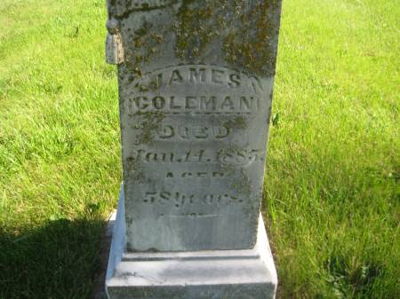 COLEMAN, JAMES - Pottawattamie County, Iowa | JAMES COLEMAN