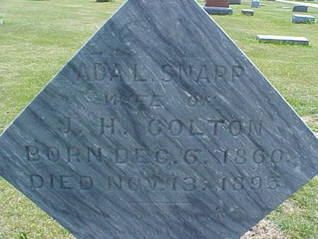 SNAPP COLTON, ADA - Pottawattamie County, Iowa | ADA SNAPP COLTON