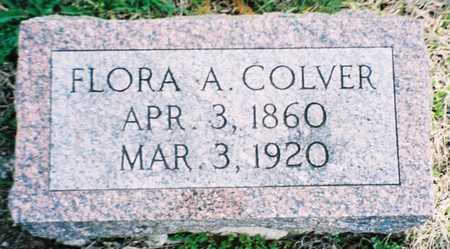 COLVER, FLORA A. - Pottawattamie County, Iowa | FLORA A. COLVER