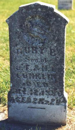 CONKLIN, DRURY B. - Pottawattamie County, Iowa | DRURY B. CONKLIN