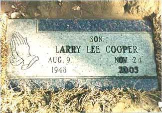 COOPER, LARRY LEE - Pottawattamie County, Iowa | LARRY LEE COOPER