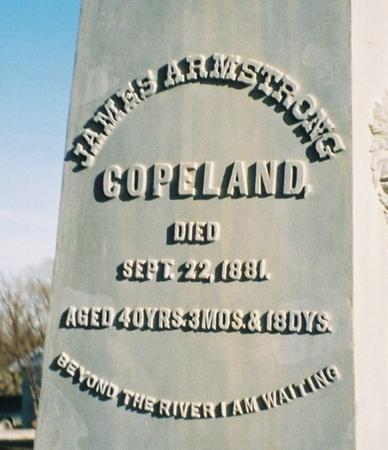 COPELAND, JAMES ARMSTRONG - Pottawattamie County, Iowa | JAMES ARMSTRONG COPELAND