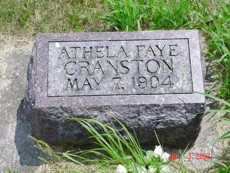 CRANSTON, ATHELA FAYE - Pottawattamie County, Iowa | ATHELA FAYE CRANSTON