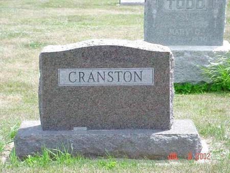 CRANSTON, RHODA D. - Pottawattamie County, Iowa | RHODA D. CRANSTON