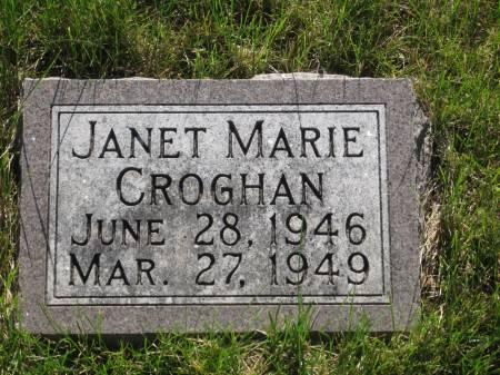 CROGHAN, JANET MARIE - Pottawattamie County, Iowa   JANET MARIE CROGHAN