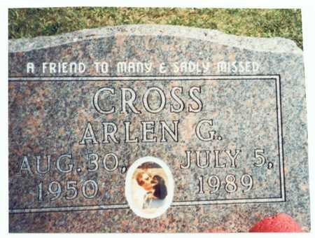 CROSS, ARLEN G. - Pottawattamie County, Iowa | ARLEN G. CROSS
