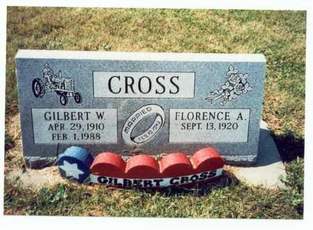 CROSS, GILBERT W. - Pottawattamie County, Iowa   GILBERT W. CROSS