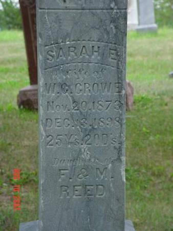 CROWE, SARAH E. - Pottawattamie County, Iowa | SARAH E. CROWE