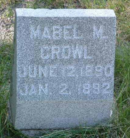 CROWL, MABEL M. - Pottawattamie County, Iowa | MABEL M. CROWL