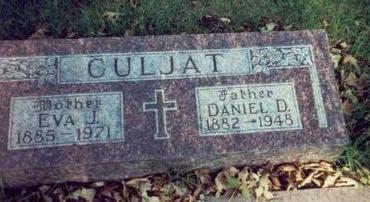 CULJAT, DANIEL D. - Pottawattamie County, Iowa | DANIEL D. CULJAT