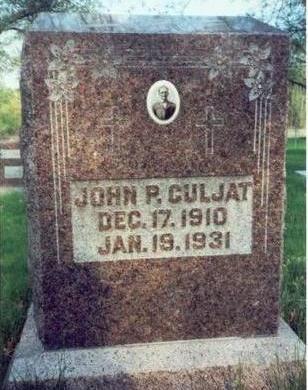 CULJAT, JOHN P. - Pottawattamie County, Iowa   JOHN P. CULJAT