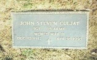 CULJAT, JOHN STEVEN - Pottawattamie County, Iowa | JOHN STEVEN CULJAT