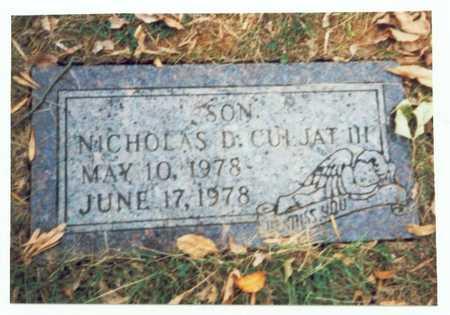 CULJAT, NICHOLAS D. III - Pottawattamie County, Iowa | NICHOLAS D. III CULJAT