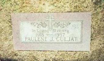 CULJAT, PAULINE J. - Pottawattamie County, Iowa | PAULINE J. CULJAT