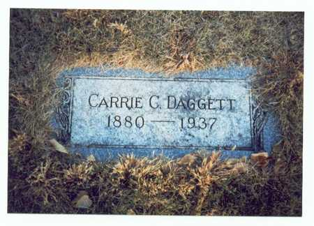 DAGGETT, CARRIE C. - Pottawattamie County, Iowa | CARRIE C. DAGGETT